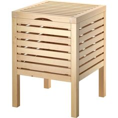 IKEA MOLGER Storage stool, birch ($30) ❤ liked on Polyvore featuring home, furniture, stools, bathroom, stool, birch furniture, home storage furniture, birch wood furniture, storage furniture and storage stool