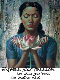 I m off to see the Tretchikoff exhibition at the National Gallery so I  thought it only fitting to quote these words of his and one of his  beautiful art ... a5ed38b3a8f