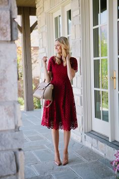Perfect Fall Dress https://www.facebook.com/FashionFieldsForever/