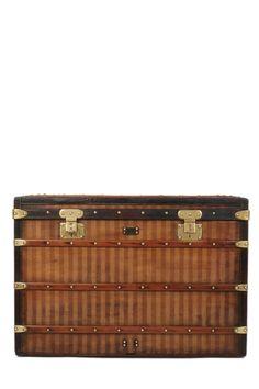 f1f87f31238 1880s Rayée Canvas Steamer Trunk