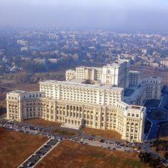 Palace of the Parliament - Classic Building of Romania Romania Facts, Romania Tours, Bulgaria, Palace Of The Parliament, Capital Of Romania, Cities, Costa, Classic Building, Famous Buildings