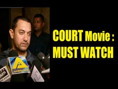 WATCH Aamir Khan praises the film COURT and says its a must watch movie for everyone. See the video at : http://youtu.be/jNXXyAtPyek #aamirkhan #court #bollywoodnews