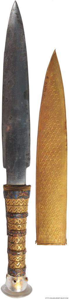 ツタンカーメンの短剣は、隕石からできていた                                                                                                                                                                                 もっと見る
