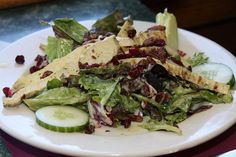 www.conwayscenic.com.  One of our delicious salad entrees.