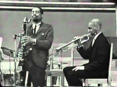 Take The A Train, tune of Billy Strayhorn interpreted by Mingus Sextet in Oslo. Eric Dolphy, Charles Mingus, Bass Clarinet, Tenor Sax, Duke Ellington, Double Bass, Mixed Media Artists, Kinds Of Music, Revolution