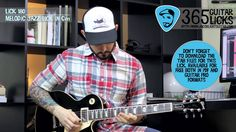 Lick 180/365 - Melodic Jazz Lick in Cm | 365 Guitar Licks Project