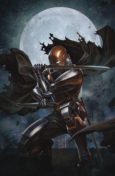 Slade Wilson (Dark Multiverse: Deathstroke: R. Dc Deathstroke, Deathstroke The Terminator, Deathstroke Cosplay, Comic Books Art, Comic Art, Book Art, Gotham, Marvel, Comic Character