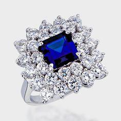 Image of 1.5 Ct. Princess Cut Fancy CZ Solitaire Engagement Ring