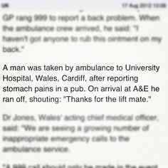 This guy who wanted a lift home. | The 28 Most Wonderfully Welsh Things That Have Ever Happened