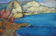 Balchik - Sever Burada Coastal Art, Art Database, Impressionism, Landscape, Artworks, Painting, Artists, Scenery, Painting Art