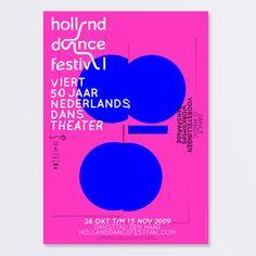 Holland Dance Festival  Campaign Identity 2009