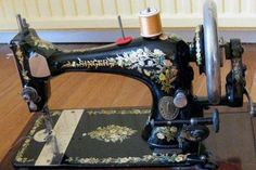 Singer Sewing Machine Decal Patterns. Photo Gallery Of Decal Designs.