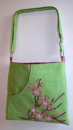 Japanese Cherry Blossom Bag