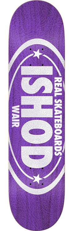 Real Skateboards Ishod Wair Premium Oval Deck