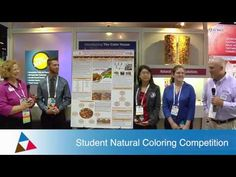 VIDEO: Award ceremony for the winners of DDW's 2013 Food & Beverage Natural Coloring Competition for Students http://www.youtube.com/watch?v=IHbBr_t6DmQ