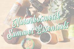 the summer essentials - Sonnenschutz, Selbstbräuner & Co | Naturkosmetik Edition