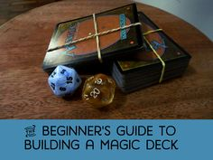 A guide for beginners on how to build your first Magic the Gathering deck. Contains strategies and tips to construct a competitive deck. ** See this great writeup. Mtg Decks, Magic The Gathering Cards, Magic Cards, Building A Deck, Top 5, Geek Out, Tabletop Games, Deck Of Cards, Fun Games