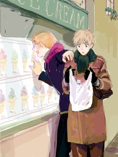 USUK Out Shopping