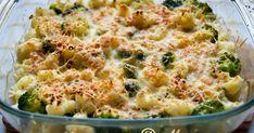 Гратен из брокколи и цветной капусты от Гордона Рамзи