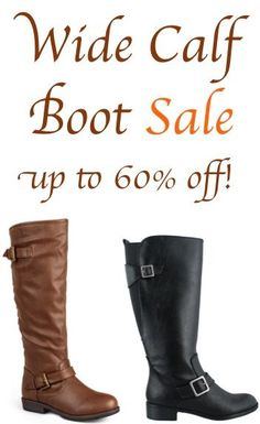 Fall Women's Wide Calf Boot Sale! Wide Calf Boots, Boots For Sale, Wide Feet, Cool Boots, Shoe Storage, Sexy Outfits, Me Too Shoes, Riding Boots, What To Wear