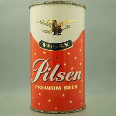 Looks like an oilcanister. A beautiful oilcanister. Yusay 147-11 flat top beer can