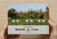 Golf Save the Date! West Seattle golf Course