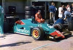 Panoramio - Photo of Alfa Romeo 185T, 1985 British GP Pit lane, Silverstone