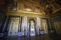 Grand apartament do roi, salon de Venus, Versalhes.