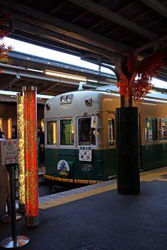 嵐電 , 京福電車, Ran-den , Keifuku train , Kyoto