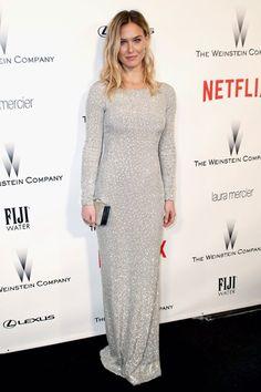 Bar Refaeli after party Weinstein Company Golden Globe Awards 2015 Hrisskas Style