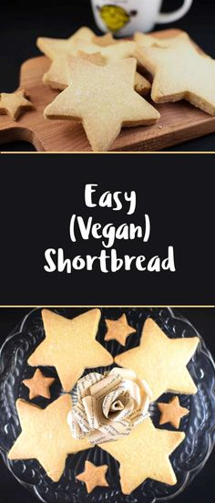 Easy vegan shortbread recipe!