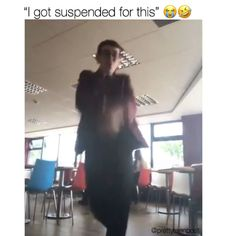 Why would you get suspended Why would you get suspended,Random stuff Why would you get suspended humor music gif tok videos funny videos Funny Video Memes, Stupid Funny Memes, Funny Relatable Memes, Funny Posts, Videos Funny, Really Funny, Funny Cute, The Funny, Hilarious
