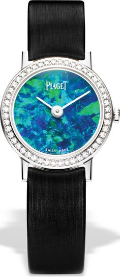 Piaget Opal diamond watch... with a gorgeous blue and green opal face!