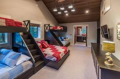The property 8445 Newhall Dr, Truckee, CA 96161 is currently not for sale on Zillow. Bunk Beds For Girls Room, Bunk Bed Rooms, Bunk Beds Built In, Bedrooms, Bunk Bed Designs, Girl Bedroom Designs, Dream Home Design, House Design, Sleepover Room