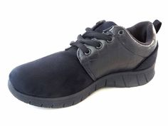 New Women's Flat Lace Up Trainers Running Shoes Sports Blue