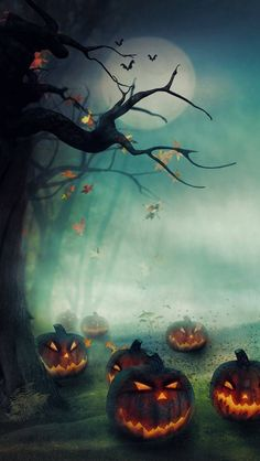 Free Halloween Wallpapers, Icons, Background Illustrations | Resources | Graphic Design Junction