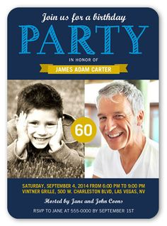 Perfect Party 5x7 Invitation Card | Birthday Party Invitations | Shutterfly