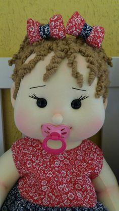 Quem resiste a esse encanto??? Cute Baby Dolls, Reborn Baby Dolls, Doll Wigs, Doll Hair, Doll Clothes Patterns, Doll Patterns, Clothing Patterns, Doll Making Tutorials, Waldorf Dolls