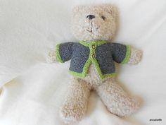 Teddykleidung - Trachtenjacke für Teddys - ein Designerstück von Annalie66 bei DaWanda