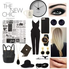 """time to work 1"" by jessicadhy on Polyvore"