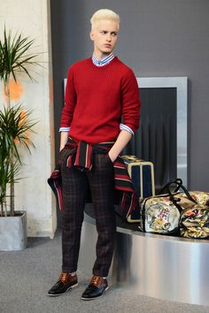 Ami Spring 2014 Menswear Collection Slideshow on Style.com