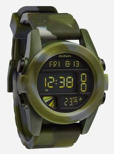 The Unit. A powerful watch. Its sporty, polycarbonate body protects it while the powerful insides provides more than just time measurement. http://www.zocko.com/z/JFbhA