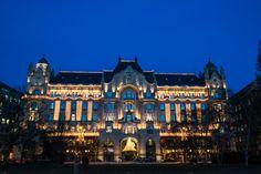 Christmas at Gresham's Budapest :: photo by Riccsi (Richárd Sárközi) Louvre, Mansions, House Styles, Building, Travel, Budapest Hungary, Home Decor, Google, Voyage