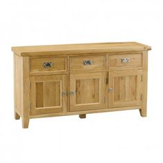 Orchard Oak Medium Sideboard - Buffets