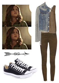 """""""Hayden Romero - tw / teen wolf"""" by shadyannon ❤ liked on Polyvore featuring Converse, J Brand, VILA, Rosemunde and rag & bone"""