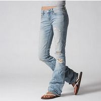 Boyfriend Light Jeans  from American Eagle...omg If I was really skinny, I would search for these jeans and wear them everyday!
