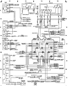 22 Best Jeep YJ Parts Diagrams images   Jeep, Jeep wrangler ... Jeep Cylinder Wiring Schematics Free on free wiring diagrams, free jeep parts, free jeep drawings, jeep electrical schematics,