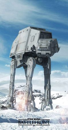 Imperial Walker- Star Wars: The Empire Strikes Back