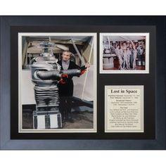 Legends Never Die Lost in Space Collage Framed Memorabilia