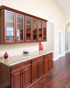 Classic Home Improvements - Design, Build, & Remodeling Contractor Kitchen Cabinets Design Layout, Kitchen Cupboard Designs, Kitchen Cabinet Styles, Kitchen Room Design, Home Room Design, Modern Kitchen Design, Home Decor Kitchen, Interior Design Kitchen, Crockery Cabinet